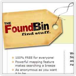 image of The Found Bin